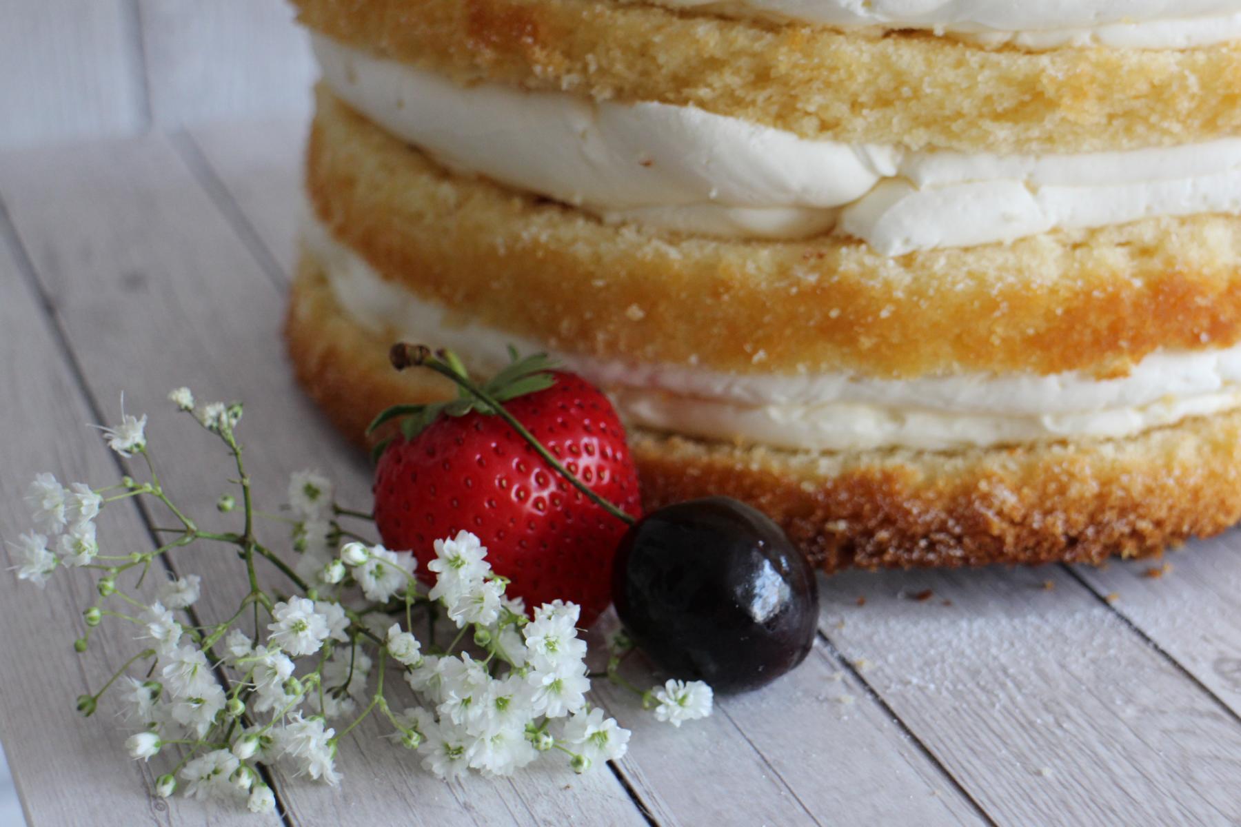 Saftiger Vanillekuchen Basisrezept Cake It Up Tortendesign